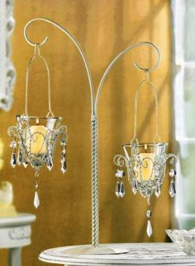 Chandelier Cake Stands Set/3 - Today's Home Accessories